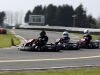 3 karts battle into the right hand