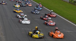 Edwards, Palmer and Morris win GP titles in action packed 125 grid